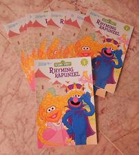 Sesame Street Abby Cadabby RHYMING RAPUNZEL Beginning Readers #1 Book