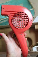 Vintage Morphy Richards Red Bakelite Hairdryer