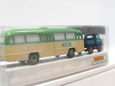 "Brekina 39110 MB Unimog 411 + Omnibus ""Schwarz"" OVP (G267)"