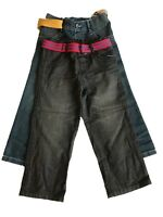 EX M&S Boys Kids Jeans Pants Trousers 100% Cotton School/Casual 12 Months-7 Yrs