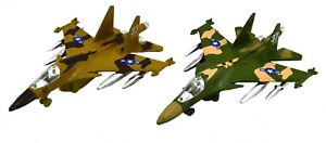 DIE CAST AIR FIGHTER PLANE 19CM birthday gift toy model airplane jet collectible
