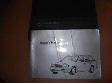 Mercedes W124 Clase E Estate E220, 280,320,300D, 250D manual de instrucciones y Monedero