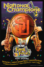 SYRACUSE ORANGEMEN NCAA Basketball Final Four 2003 CHAMPIONS Original Poster