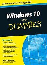 Windows 10 para dummies. NUEVO. Nacional URGENTE/Internac. económico. INFORMATIC