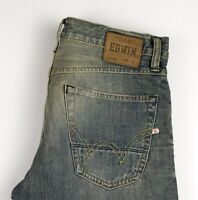 Edwin Herren ED-39 Regular Slim Gerade Jeans Größe W30 L32 AOZ950