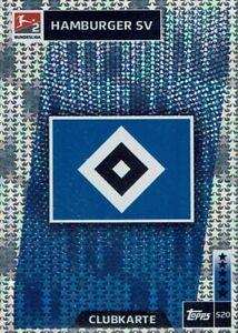 Topps Match Attax 18/19 Bundesliga 2018/2019 Carte Numéro 520 Hamburger Sv