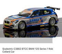 Scalextric C3862 BTCC BMW 125 Series 1 Rob Collard Brand New In Box