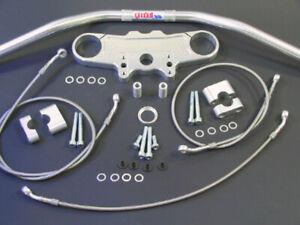 Abm Superbike Handlebar Kit Suzuki GSX 1300 R Hayabusa ( Wvck ) 08-12 Silver
