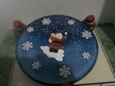 Santa Cake Plate
