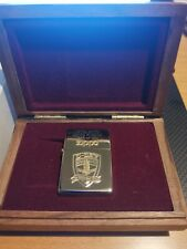 Zippo D-DAY NORMANDY 50 YEARS 1944-1994 LIMITED EDITION OF 1000 SILVER