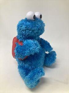2010 Sesame Street Count N Crunch Backpack Cookie Monster Toy Talking NO COOKIES