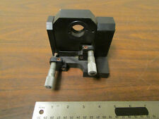 Optical Fixture For Optical Table Micrometer Adjustable Window Holder