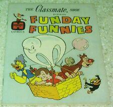 Funday Funnies Classmate Shoes Giveaway NN VF+ (8.5) 1961 Baby Huey, Herman, Kat