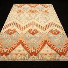 Designer Orient Teppich 299 x 200 cm Perserteppich Beige Handgeknüpft Carpet Rug