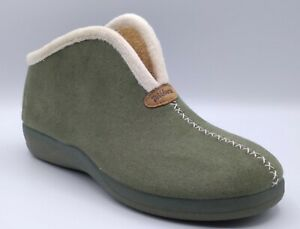 Slippers - Ladies - DeValverde 9709 Verde (Moss Green)