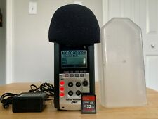 Zoom H4n Digital Recorder with Sd Card, Power Supply, & Case