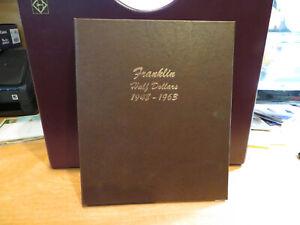1948-1963 Franklin Half Dollar Collection Choice/Premium BU with 1955 Bugs Bunny