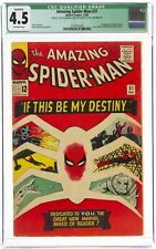 Amazing Spider-Man #31 CGC 4.5 Qualified 1st Gwen Stacy, Marvel 1965 🔥 a beauty