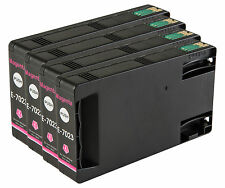 4 Magenta T7023 non-OEM Ink Cartridge For Epson Pro WP-4525DNF WP-4535DWF