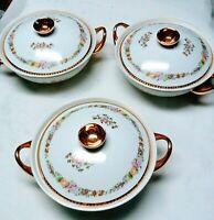 """Large Royal Fine Porcelain Soup Tureen Lidded Bowl 10"""""""