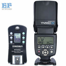 Yongnuo YN-560 IV Flash Speedlite + Wireless Trigger RF-605 LCD for Canon Camera