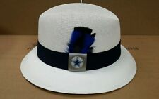 MENS LARGE  DALLAS COWBOYS LOWRIDER HAT FEDORA VINTAGE ROCKABILLY RAT ROD