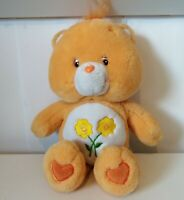 Care Bears 2002/2003 Friendship Bear Friends Orange Yellow Flowers