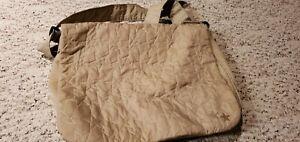 Beige messenger / diaper bag free shipping