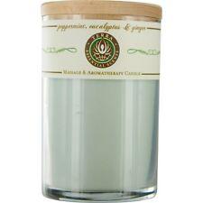 Peppermint, Eucalyptus & Ginger Massage & Aromatherapy Soy Candle 12 oz Tumbler.