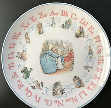 Plate-abc Wedgewood Peter Rabbit Plate