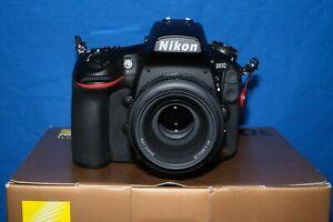 Nikon D810 Full Frame DSLR + 50mm f1.8 lens