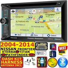 FITS 2004-14 NISSAN TRUCK SUV NAVIGATION BLUETOOTH USB CD/DVD RADIO STEREO PKG