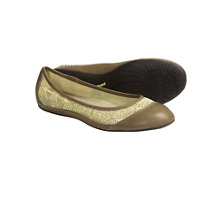 PATAGONIA Women's MAHA Breathe Upper Leather Flats Comfort Shoes Size 10