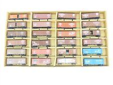 HO Scale Assorted SOU SLSF ACL L&N SAL 24-Car Freight Train Set w/ Storage Box