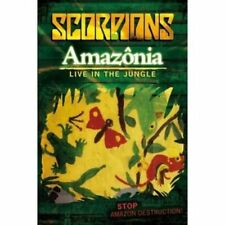 Amazônia: Live in the Jungle by Scorpions (Germany) (DVD, Nov-2009, Greenpeace)