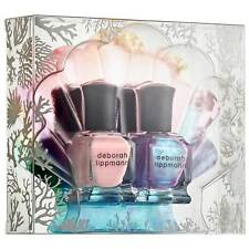 DEBORAH LIPPMANN The World Is Your Oyster Nail Polish Duo 8ml/.27 x 2 New in Box