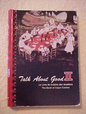 1979 Cookbook TALK ABOUT GOOD II (Red) LAFAYETTE LOUISIANA  JUNIOR LEAGUE CAJUN