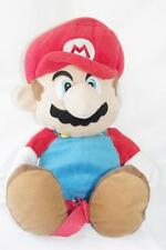 Mario Backpack Stuffed Plush 3D Character Officially Licensed Nintendo