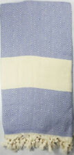 AUCTION - LARGE TURKISH HAMMAM PESHTEMAL 100% COTTON CAPRAZ BATH TOWEL-