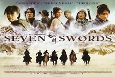 SEVEN SWORDS Movie POSTER 30x40 Leon Lai Charlie Yeung Donnie Yen Liwu Dai