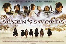SEVEN SWORDS Movie POSTER 30x40 Leon Lai Charlie Yeung Donnie Yen Liwu Dai
