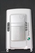 Original Sony Ericsson k750i cámara Camera cover cubierta de plata carcasa