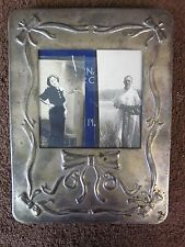 Vintage Metal Front Photo Album with 29 Vintage Photographs of Family 1930's - 1