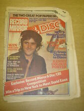 RECORD MIRROR 1975 SEP 6 BAY CITY ROLLERS ALICE COOPER DAVID ESSEX STEELEYE SPAN