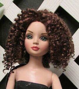 """Monique Gold """"Aubrey"""" Size 6/7 in Chestnut Brown - Factory Sample 10% Off"""