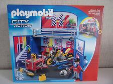 Playmobil City Action 6157 Aufklapp-Spiel-Box Motorradwerkstatt - Neu & OVP