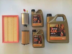 FITS JAGUAR XF 2008-2015, 2.7 D DIESEL ENGINE, SERVICE KIT INCLUDING OIL