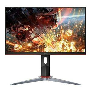 "AOC 24G2 24"" Frameless Gaming IPS Monitor, FHD 1080P, 1ms 144Hz, Freesync DP"
