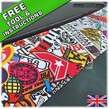 250mm x 1500mm StickerBomb Sunstrip Window Strip - Euro-style Car Wrap Sticker!