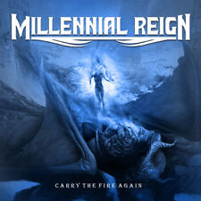 MILLENNIAL REIGN ? Carry the Fire again (NEW*LIM.300*US METAL*QUEENSRYCHE*LETHAL